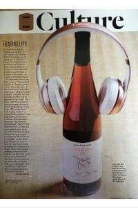 full-color image of feature article on The Book Club Wine in Feb 2018 issue of 5280 Magazine